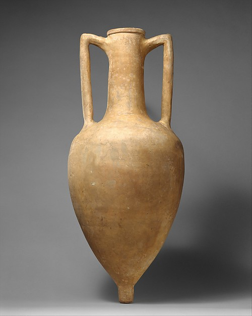 Terracotta transport amphora