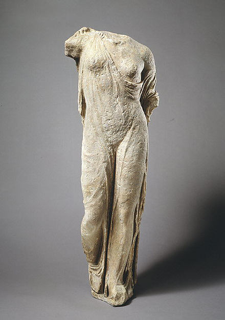 Marble statue of Aphrodite, the so-called Venus Genetrix