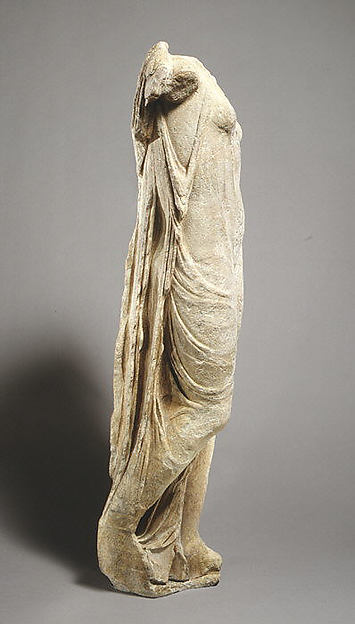 Marble statue of Aphrodite, the so-called Venus Genetrix