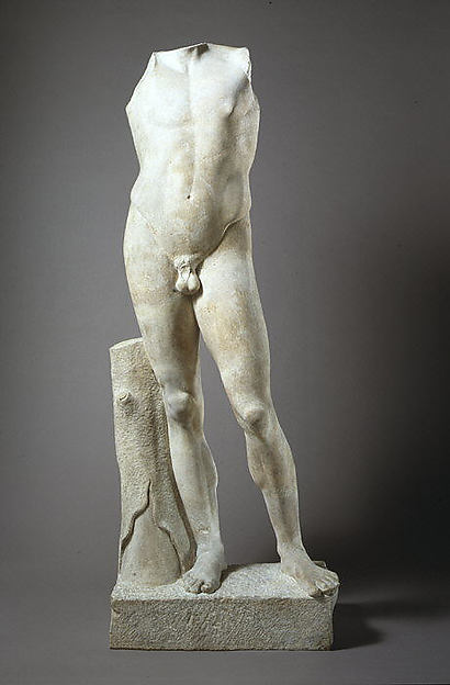 Marble statue of the so-called Apollo Lykeios