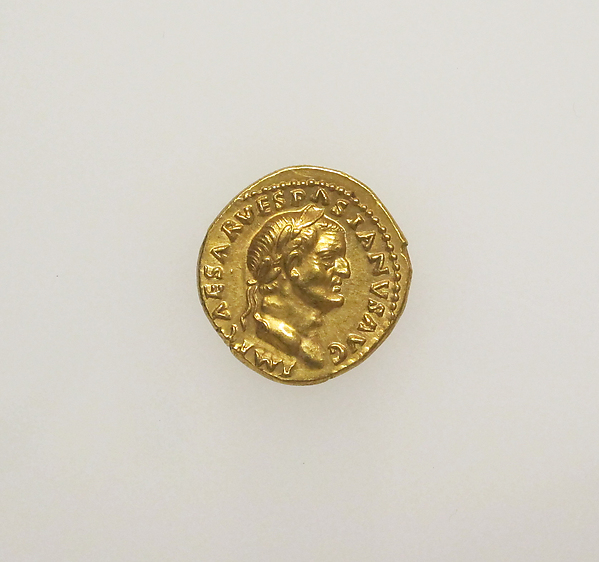 Gold aureus of Vespasian