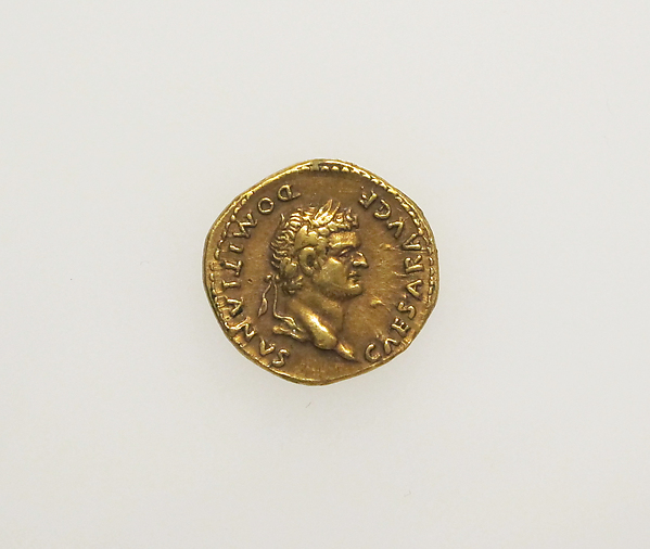 Gold aureus of Vespasian