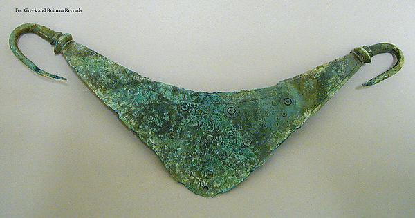 Bronze belt clasp