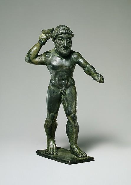 Bronze Herakles