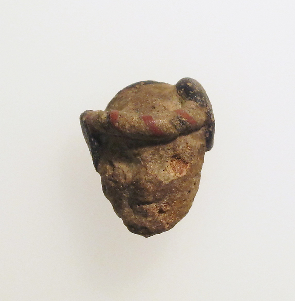 Glass head pendant
