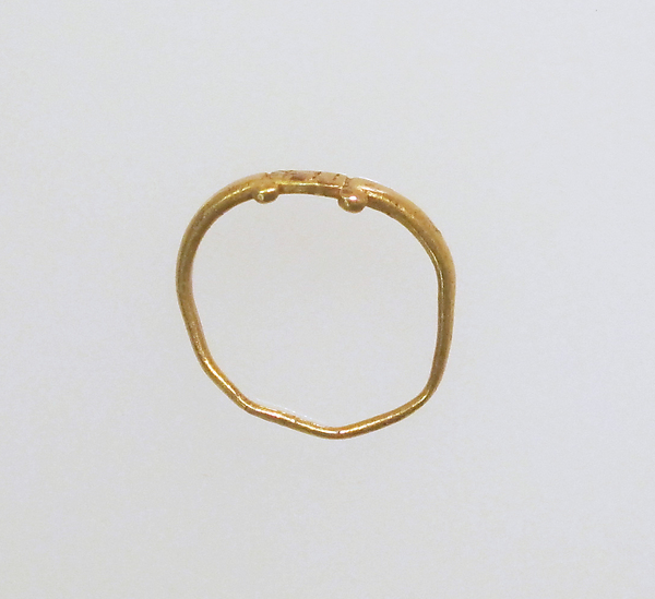 Ring, inscribed