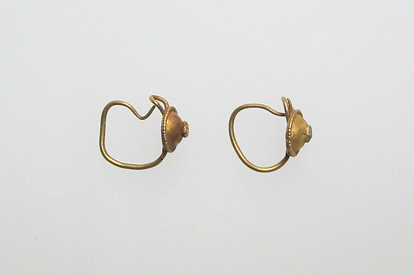 Earring with disks