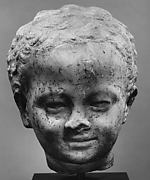 Marble head of a child