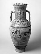 Terracotta neck-amphora