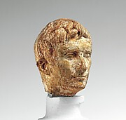 Ivory portrait head of the emperor Augustus