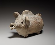 Terracotta rattle in the form of a pig