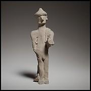 Standing male figurine