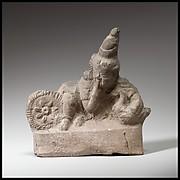 Terracotta statuette of Harpokrates