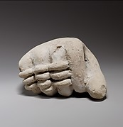 Terracotta fragment of a hand