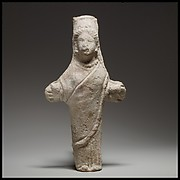 Standing female figurine (cruciform)