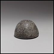 Terracotta spindle whorl