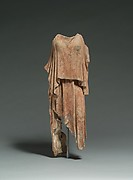 Terracotta figure of a woman