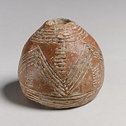 Terracotta spindle whorls