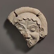 Antefix, Gorgoneion
