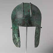Bronze helmet of Illyrian type