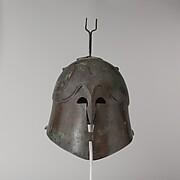 Bronze helmet of Apulian-Corinthian type