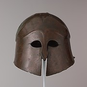 Bronze helmet of South Italian-Corinthian type