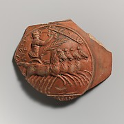 Terracotta medallion