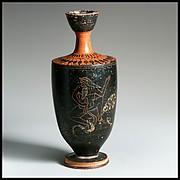 Terracottas lekythos (oil flask)