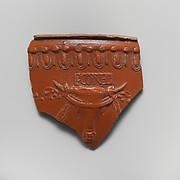 Terracotta vase fragment