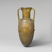 Glass amphora (jar)