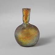 Glass miniature flask