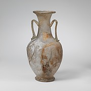 Glass amphora (two-handled bottle)