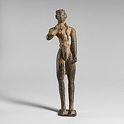 Bronze statuette of a votary