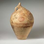 Terracotta beaked jug