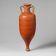 Terracotta amphora (storage jar)