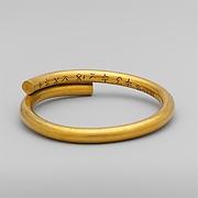 Electrotype copy of a gold bracelet