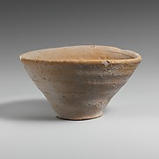 Terracotta conical cup