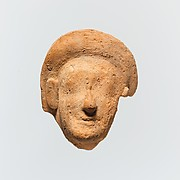 Terracotta fragment of a woman's head