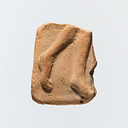 Fragment of a terracotta plaque