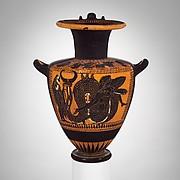 Terracotta hydria (water jar)