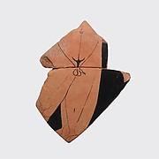 Fragment of a terrracotta neck-amphora (jar)