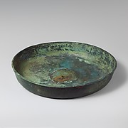 Bronze bowl and oinochoe (jug)