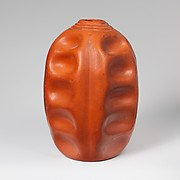 Terracotta flask