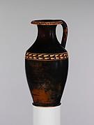 Terracotta oinochoe: olpe (jug)