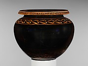 Terracotta lebes (deep bowl)