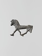 Lead figure of a horse