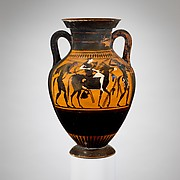 Terracotta amphora (jar)