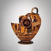 Terracotta fragments of a neck-amphora (jar)