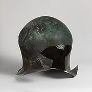 Bronze helmet of Corinthian type