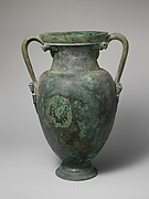 Bronze neck-amphora (jar)